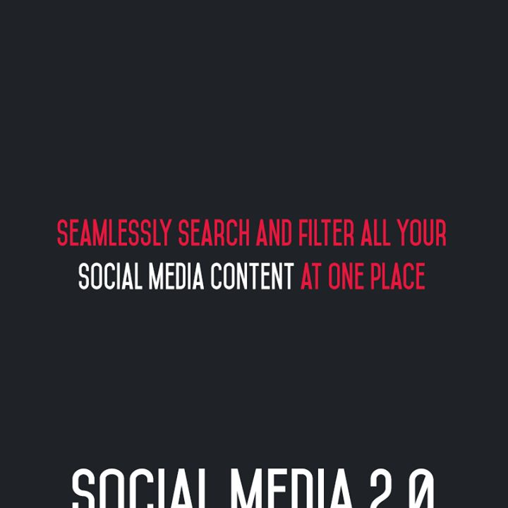 :: Seamlessly search & filter all your Social Media content at one place ::  #FutureOfSocialMedia #DigitalMarketing #SocialMedia2point0 #SM2point0 #NextinSocialMedia #CompuBrain