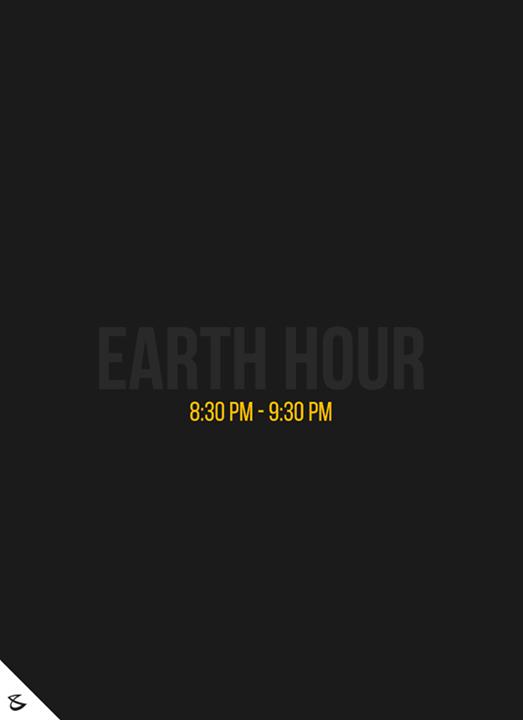 :: Earth Hour ::  #EarthHour #EarthHour2017 #SocialMedia2point0 #Awareness