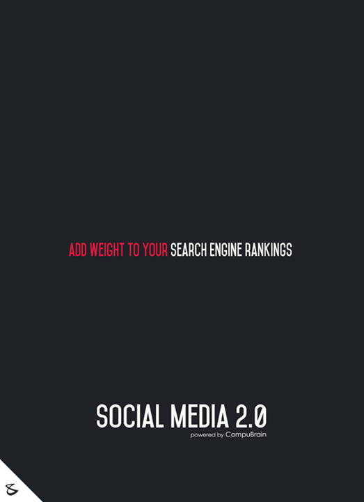 Add weight to your Search Engine rankings!  #sm2p0 #contentstrategy #SocialMediaStrategy #DigitalStrategy