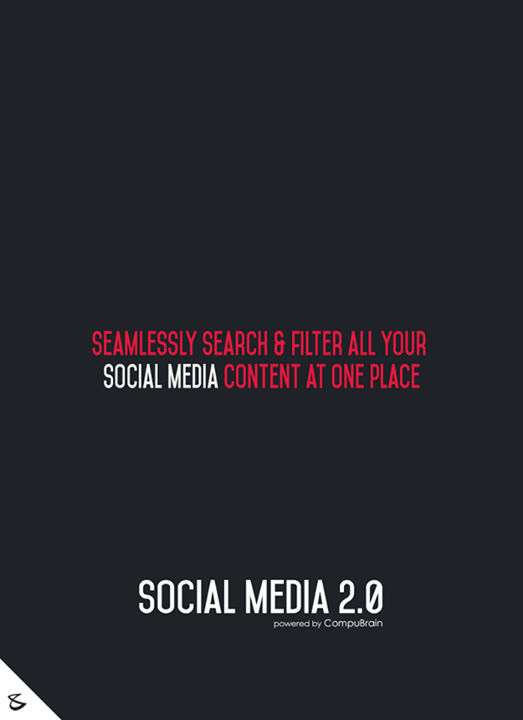 Seamlessly search & filter all your Social Media content at one place.  #sm2p0 #contentstrategy #SocialMediaStrategy #DigitalStrategy #SocialMediaTools #SocialMediaTips #FutureOfSocialMedia
