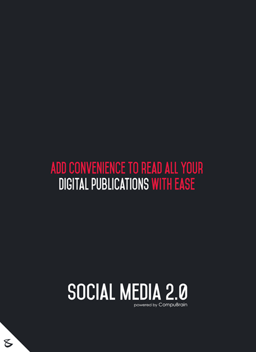 :: Add convenience to read all your digital publications with ease ::  #sm2p0 #contentstrategy #SocialMediaStrategy #DigitalStrategy #SocialMediaTools #SocialMediaTips #FutureOfSocialMedia