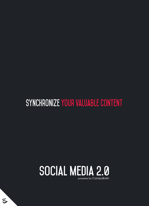 :: Synchronize your valuable content ::  #sm2p0 #contentstrategy #SocialMediaStrategy #DigitalStrategy #SocialMediaTools #SocialMediaTips #FutureOfSocialMedia