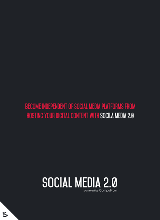 :: Become independent of Social Media platforms from hosting your Digital Content with Social Media 2.0 ::  #sm2p0 #contentstrategy #SocialMediaStrategy #DigitalStrategy #SocialMediaTools #SocialMediaTips #FutureOfSocialMedia