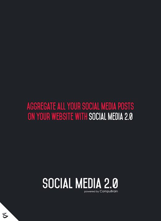 :: Aggregate all your Social Media posts on your website with Social Media 2.0 ::  #sm2p0 #contentstrategy #SocialMediaStrategy #DigitalStrategy #SocialMediaTools #SocialMediaTips #FutureOfSocialMedia