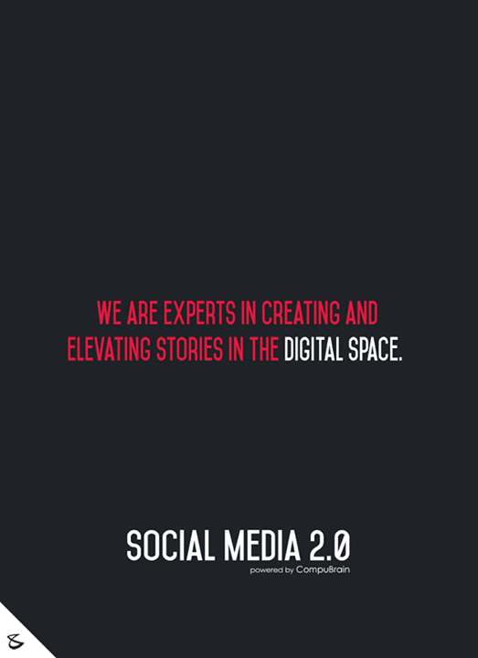 We are experts in creating and elevating stories in the digital space.     #sm2p0 #contentstrategy #SocialMediaStrategy #DigitalStrategy #SocialMediaTools #SocialMediaTips #FutureOfSocialMedia