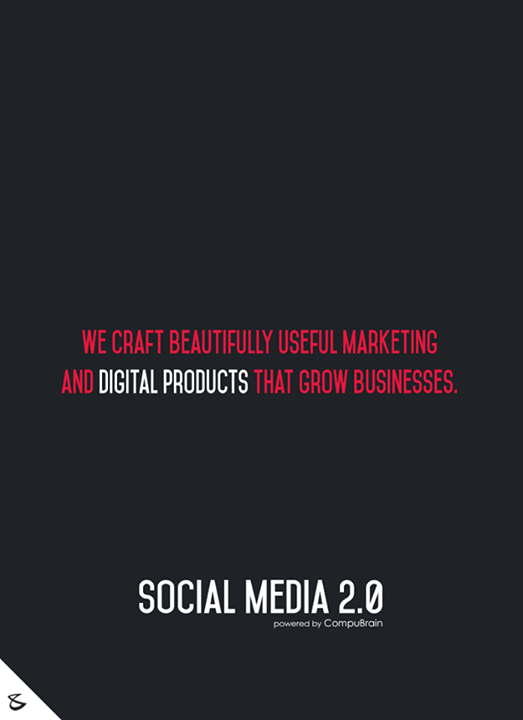 We craft beautifully useful marketing and digital products that grow businesses.  #sm2p0 #contentstrategy #SocialMediaStrategy #DigitalStrategy #SocialMediaTools #SocialMediaTips #FutureOfSocialMedia