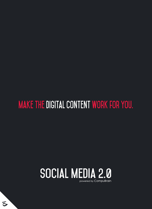 :: Make the digital content work for you ::  #sm2p0 #contentstrategy #SocialMediaStrategy #DigitalStrategy #SocialMediaTools #SocialMediaTips #FutureOfSocialMedia