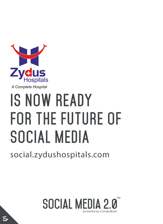 Social Media 2.0 is proud to welcome Zydus Hospitals on board.  #SocialMedia2p0 #DigitalConsoldiation #ZydusHospital #CompuBrain #sm2p0 #contentstrategy #SocialMediaStrategy #DigitalStrategy