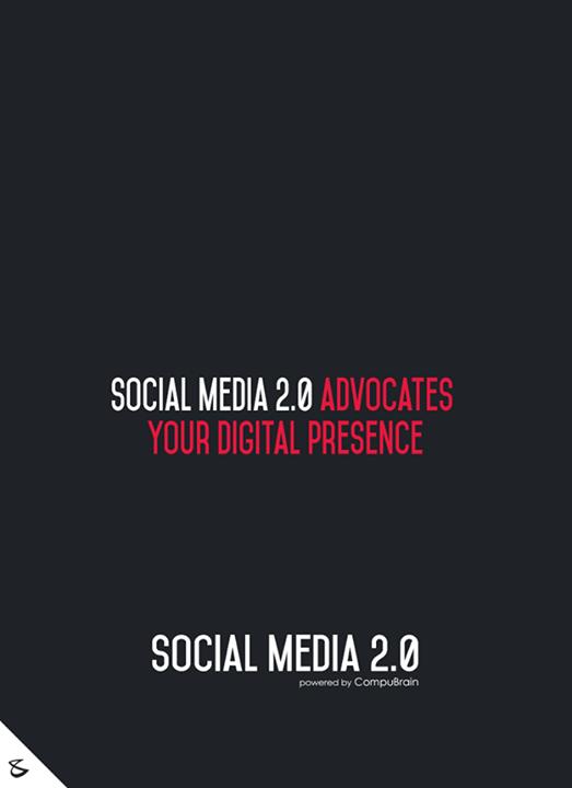 :: Social Media 2.0 advocates your Digital Presence ::  #sm2p0 #contentstrategy #SocialMediaStrategy #DigitalStrategy #SocialMediaTools #SocialMediaTips #FutureOfSocialMedia