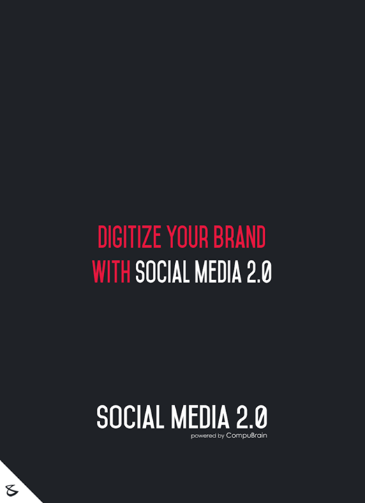 Digitize your brand with Social Media 2.0  #sm2p0 #contentstrategy #SocialMediaStrategy #DigitalStrategy #SocialMediaTools #SocialMediaTips #FutureOfSocialMedia