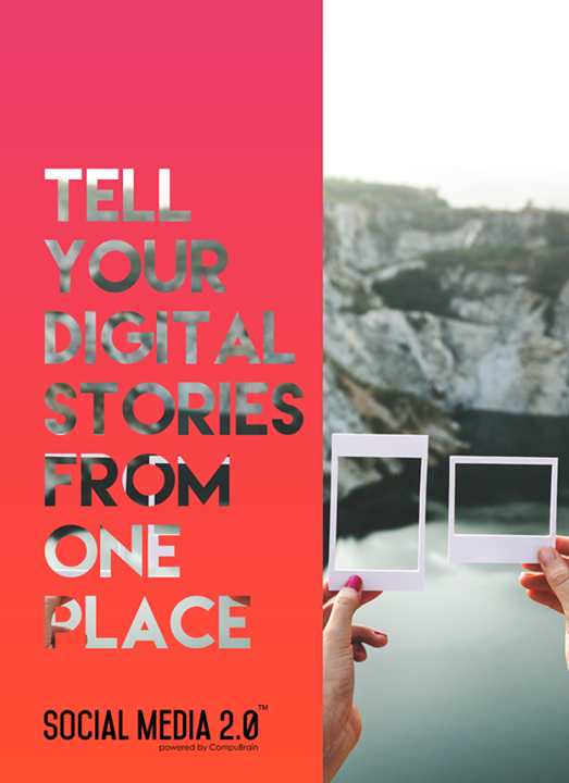 All your #digitalstories from one place, Social Media 2.0!  #SocialMedia2p0 #DigitalConsoldiation #CompuBrain #sm2p0 #contentstrategy #SocialMediaStrategy #DigitalStrategy