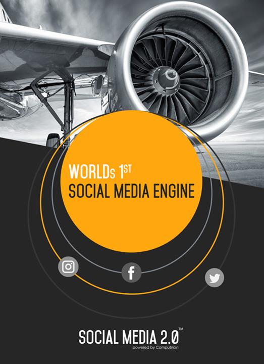 World's 1st #SocialMediaEngine!   #SocialMedia2p0 #DigitalConsolidation #CompuBrain #sm2p0 #contentstrategy #SocialMediaStrategy #DigitalStrategy