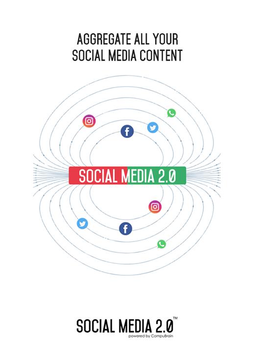 Aggregator of your #SocialMediaContent!  #SocialMedia2p0 #DigitalConsolidation #CompuBrain #sm2p0 #contentstrategy #SocialMediaStrategy #DigitalStrategy