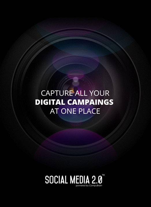 Capture your digital campaigns at one place!  #SocialMedia2p0 #DigitalConsolidation #CompuBrain #sm2p0 #contentstrategy #SocialMediaStrategy #DigitalStrategy
