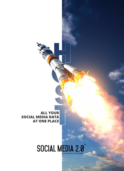 Host all your #SocialMediaData at one place!  #SocialMedia2p0 #DigitalConsolidation #CompuBrain #sm2p0 #contentstrategy #SocialMediaStrategy #DigitalStrategy