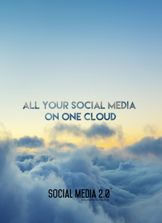 Consolidate all your #SocialMedia content on ONE cloud with Social Media 2.0!  #SocialMedia2p0 #DigitalConsolidation #CompuBrain #sm2p0 #contentstrategy #SocialMediaStrategy #DigitalStrategy