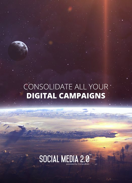 Consolidate your #DigitalCampaigns..  #SocialMedia2p0 #DigitalConsolidation #CompuBrain #sm2p0 #contentstrategy #SocialMediaStrategy #DigitalStrategy