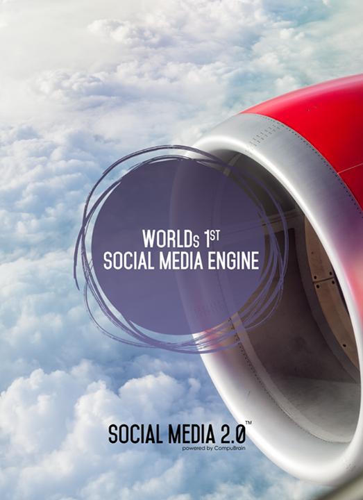 Let's welcome world's first #socialmediaengine!  #SocialMedia2p0 #DigitalConsolidation #CompuBrain #sm2p0 #contentstrategy #SocialMediaStrategy #DigitalStrategy