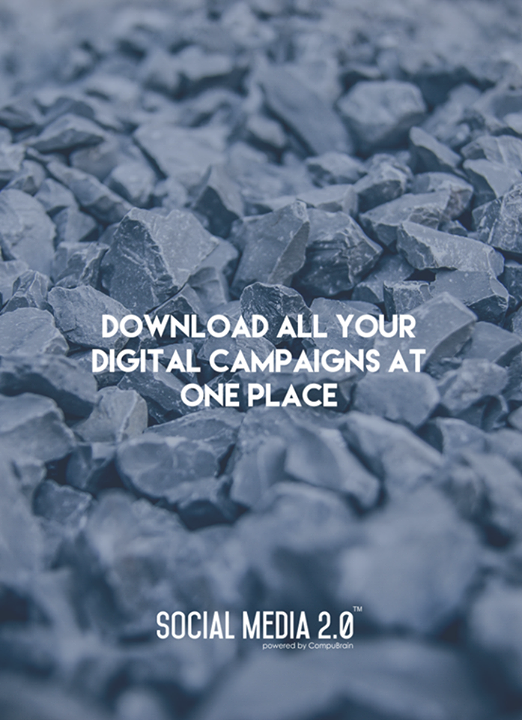 All your #DigitalCampaigns at one place!  #Consolidation #SocialMedia #SocialMedia2p0 #DigitalConsolidation #CompuBrain #sm2p0 #contentstrategy #SocialMediaStrategy #DigitalStrategy