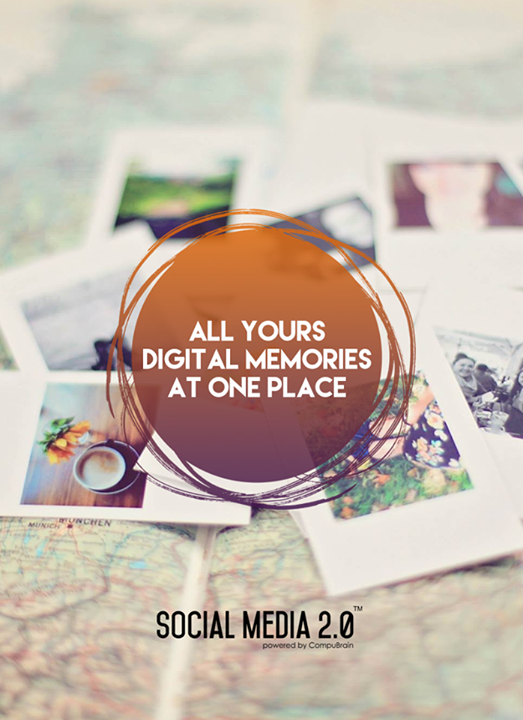 All your #DigitalMemories at one place!  #Consolidation #SocialMedia #SocialMedia2p0 #DigitalConsolidation #CompuBrain #sm2p0 #contentstrategy #SocialMediaStrategy #DigitalStrategy