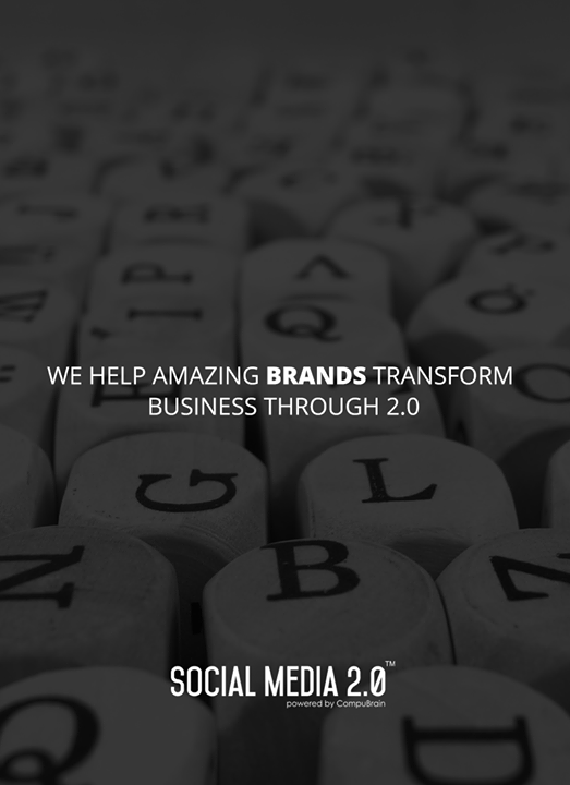 Transform businesses with Social Media 2.0!  #SocialMedia #SocialMedia2p0 #DigitalConsolidation #CompuBrain #sm2p0 #contentstrategy #SocialMediaStrategy #DigitalStrategy