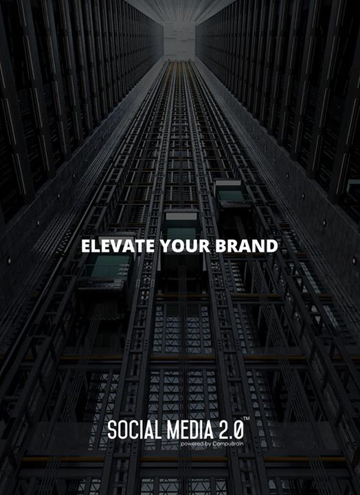 E L E V A T E your brand with Social Media 2.0!  #SocialMedia2p0 #sm2p0 #contentstrategy #SocialMediaStrategy #DigitalStrategy
