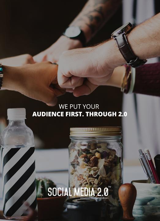 A U D I E N C E first!  #SocialMedia2p0 #sm2p0 #contentstrategy #SocialMediaStrategy #DigitalStrategy
