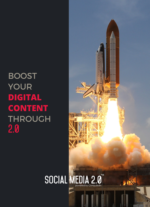 Boost your #Digitalcontent with Social Media 2.0!  #SocialMedia2p0 #sm2p0 #contentstrategy #SocialMediaStrategy #DigitalStrategy