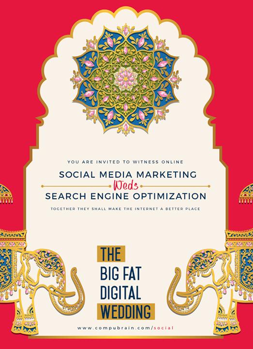 It's the #wedding of #SocialMediaMarketing & #SearchEngineOptimization!  #SocialMedia2p0 #sm2p0 #contentstrategy #SocialMediaStrategy #DigitalStrategy