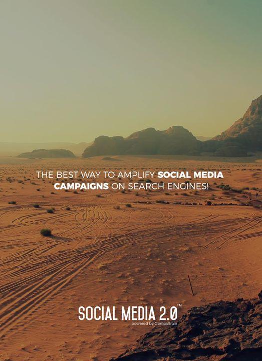 Amplify your #socialmediacampaigns on #SearchEngines!  #SocialMedia2p0 #sm2p0 #contentstrategy #SocialMediaStrategy #DigitalStrategy