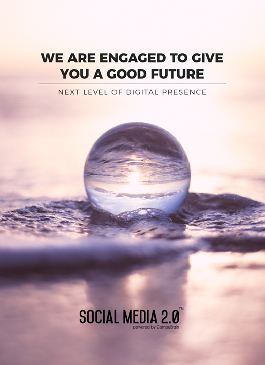 We are engaged to give you a good future.  #SocialMedia2p0 #sm2p0 #contentstrategy #SocialMediaStrategy #DigitalStrategy