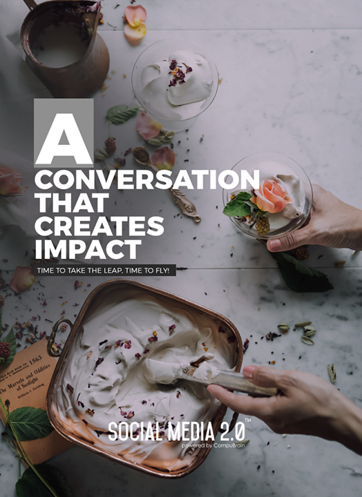 A conversation that creates impact   #SearchEngineOptimization #SocialMedia2p0 #sm2p0 #contentstrategy #SocialMediaStrategy #DigitalStrategy #DigitalCampaigns