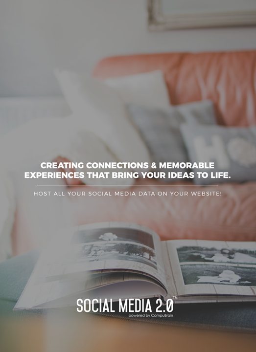 Creating Connections & Memorable Experiences that bring your ideas to life.   #SearchEngineOptimization #SocialMedia2p0 #sm2p0 #contentstrategy #SocialMediaStrategy #DigitalStrategy #DigitalCampaigns