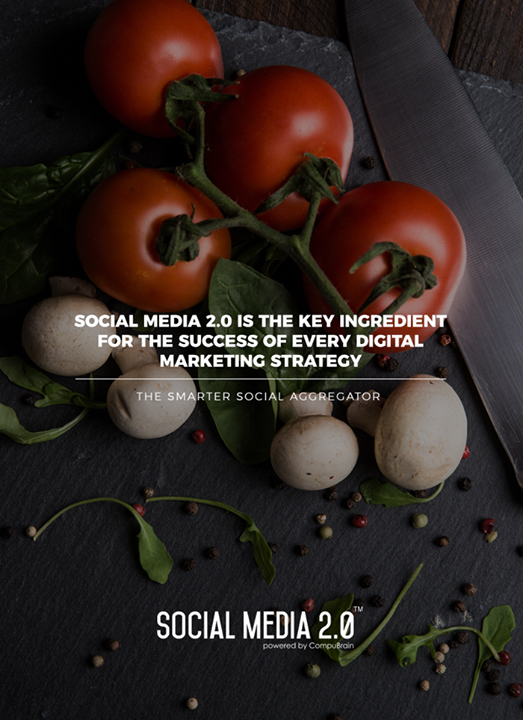 Social Media 2.0 is the key ingredient for the Success of every Digital Marketing Strategy   #SearchEngineOptimization #SocialMedia2p0 #sm2p0 #contentstrategy #SocialMediaStrategy #DigitalStrategy #DigitalCampaigns
