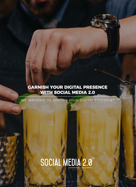 Garnish your Digital Presence with Social Media 2.0   #SearchEngineOptimization #SocialMedia2p0 #sm2p0 #contentstrategy #SocialMediaStrategy #DigitalStrategy #DigitalCampaigns