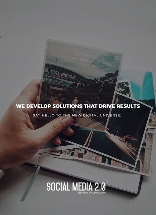 We develop solutions that drive results   #SearchEngineOptimization #SocialMedia2p0 #sm2p0 #contentstrategy #SocialMediaStrategy #DigitalStrategy #DigitalCampaigns