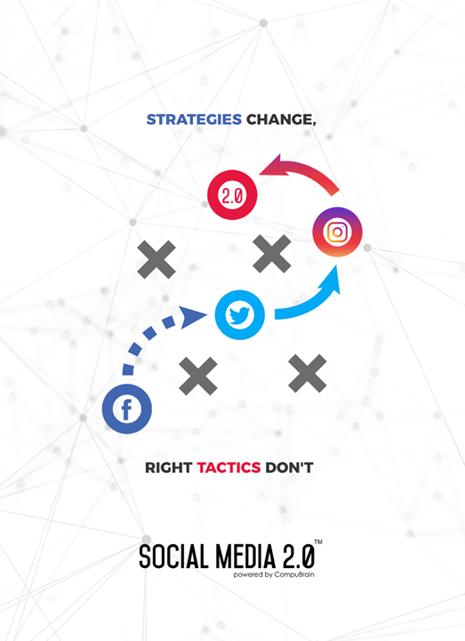 Strategies Change, Right #Tactics Don't    #SearchEngineOptimization #SocialMedia2p0 #sm2p0 #contentstrategy #SocialMediaStrategy #DigitalStrategy #DigitalCampaigns