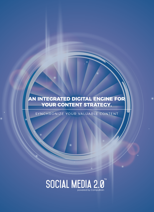 An integrated Digital Engine for your Content Strategy.   #SearchEngineOptimization #SocialMedia2p0 #sm2p0 #contentstrategy #SocialMediaStrategy #DigitalStrategy #DigitalCampaigns