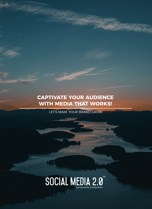 Captivate your Audience with Media that Works!  #SearchEngineOptimization #SocialMedia2p0 #sm2p0 #contentstrategy #SocialMediaStrategy #DigitalStrategy #DigitalCampaigns