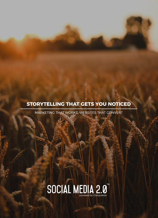 Storytelling that gets you noticed  #SearchEngineOptimization #SocialMedia2p0 #sm2p0 #contentstrategy #SocialMediaStrategy #DigitalStrategy #DigitalCampaigns