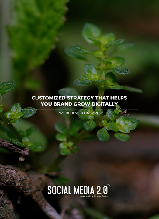 Customized strategy that helps you brand grow digitally  #SearchEngineOptimization #SocialMedia2p0 #sm2p0 #contentstrategy #SocialMediaStrategy #DigitalStrategy #DigitalCampaigns