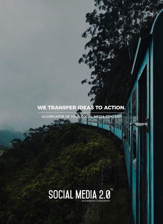 We transfer ideas to action.  #SearchEngineOptimization #SocialMedia2p0 #sm2p0 #contentstrategy #SocialMediaStrategy #DigitalStrategy #DigitalCampaigns