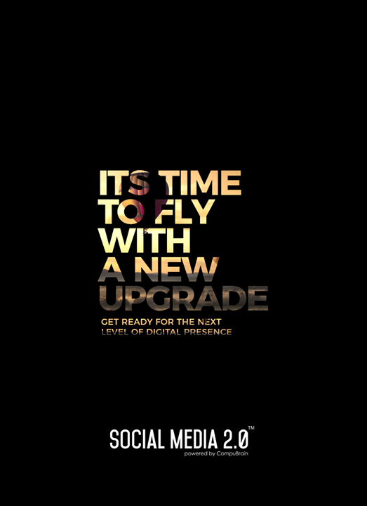 Its time to fly with a new upgrade  #SearchEngineOptimization #SocialMedia2p0 #sm2p0 #contentstrategy #SocialMediaStrategy #DigitalStrategy #DigitalCampaigns