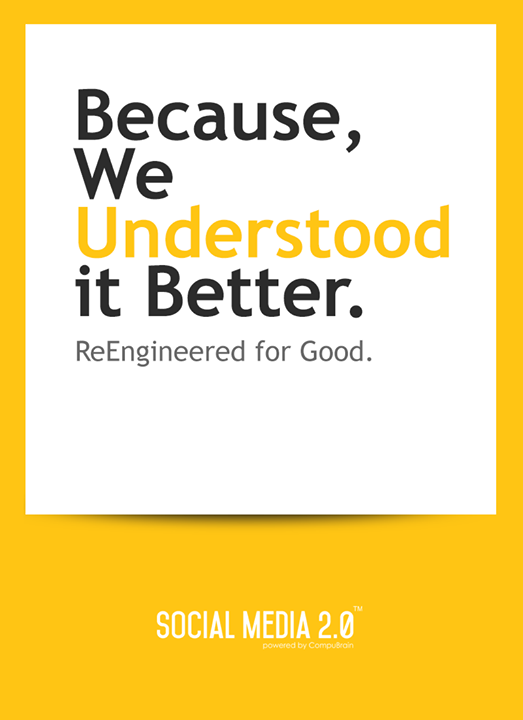 Re Engineered for Good !  #SearchEngineOptimization #SocialMedia2p0 #sm2p0 #contentstrategy #SocialMediaStrategy #DigitalStrategy #DigitalCampaigns