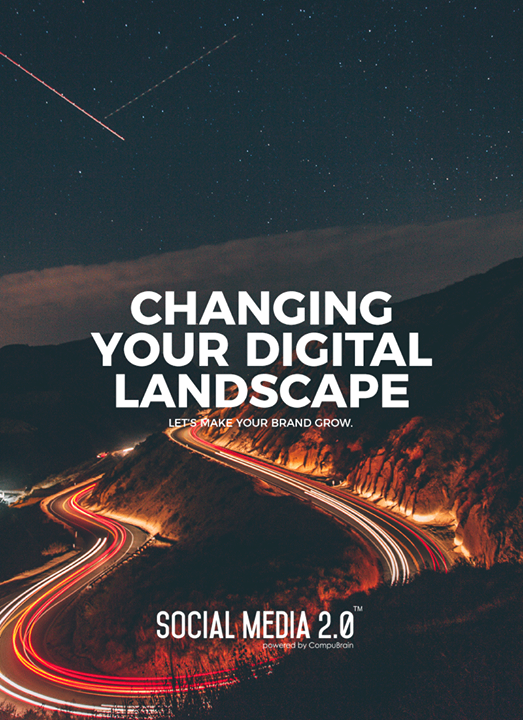 Changing your digital landscape  #SocialMedia2p0 #sm2p0 #contentstrategy #SocialMediaStrategy #DigitalStrategy #DigitalCampaigns #SearchEngineOptimization