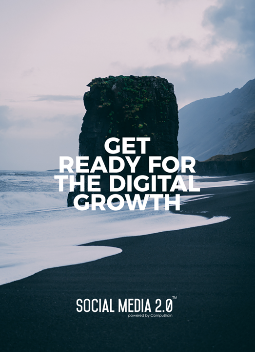 Get ready for the digital growth  #SearchEngineOptimization #SocialMedia2p0 #sm2p0 #contentstrategy #SocialMediaStrategy #DigitalStrategy #DigitalCampaigns