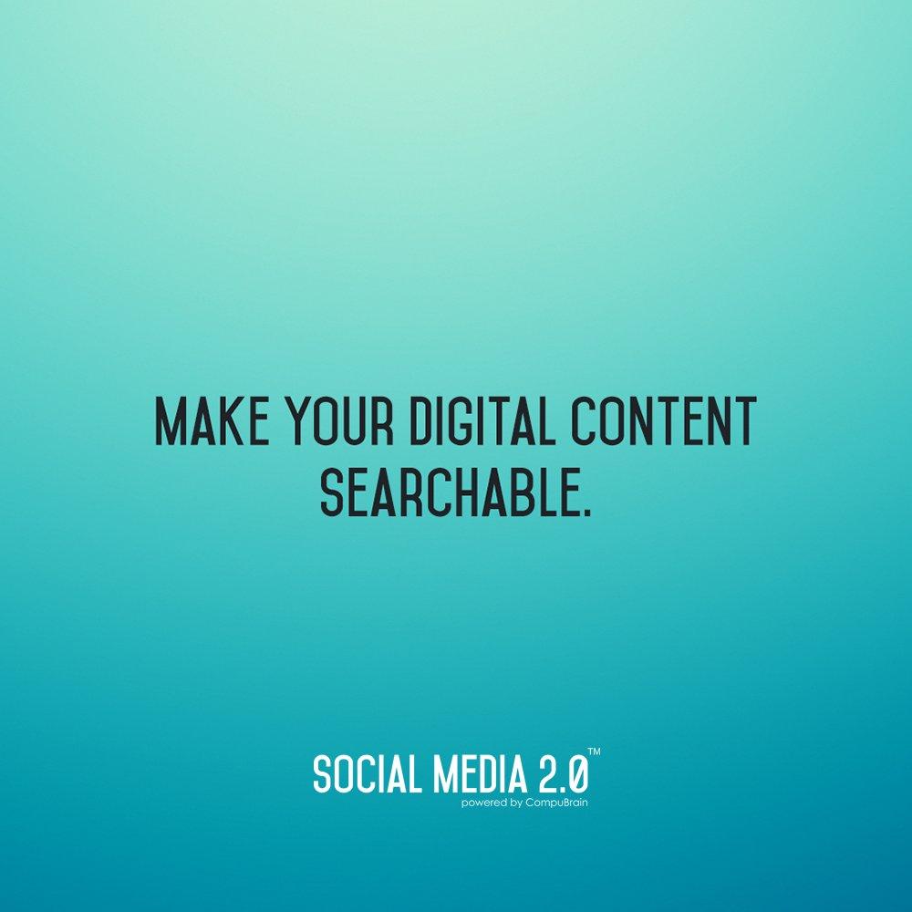 Social Media 2.0,  SocialMediaStrategy, SocialMedia2p0, SM2p0, contentmanagement, contentstrategy