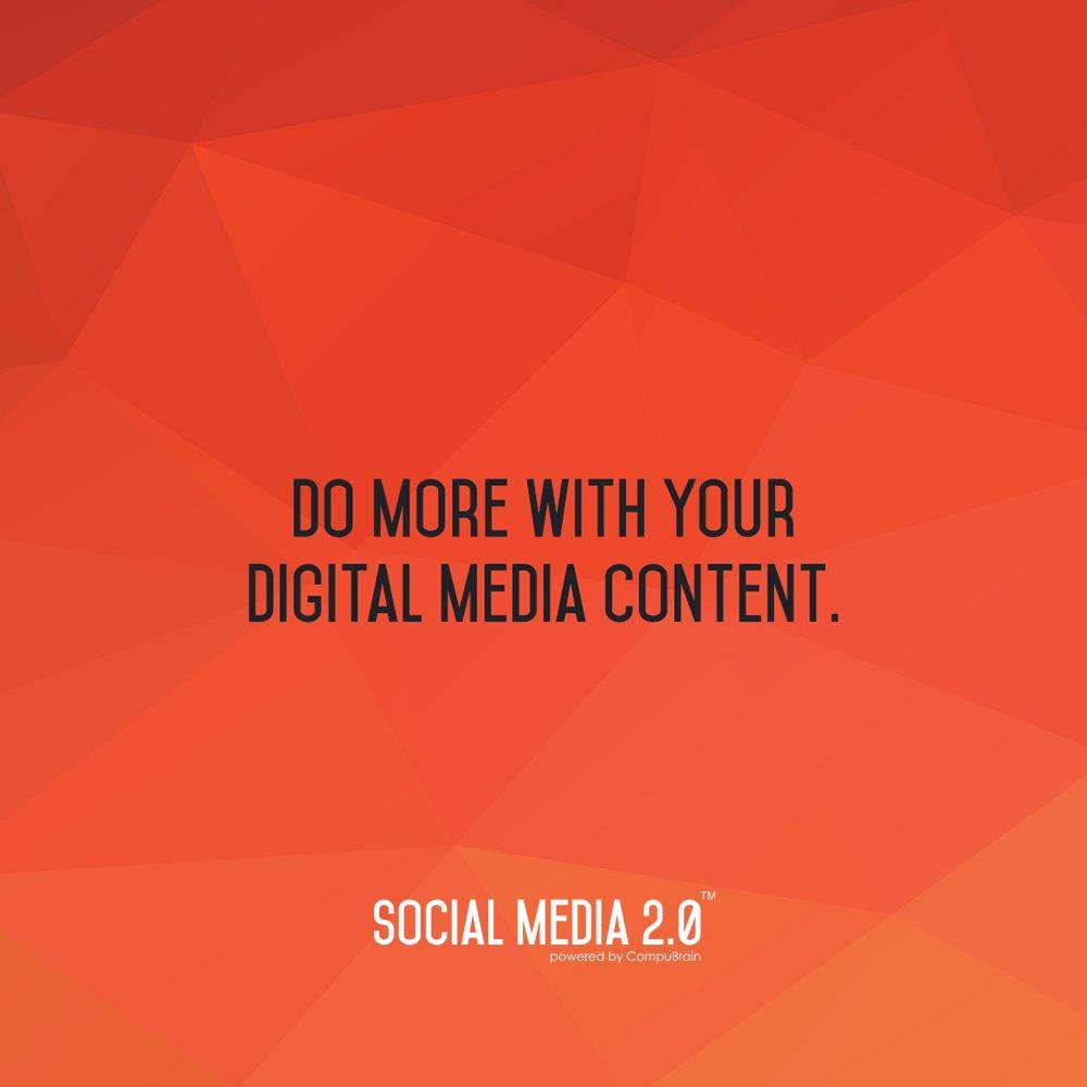 Do More With Your Digital Media Content: https://t.co/oC7vAJGQeW  #DigitalContent #Content #SMM #SEO #SocailMedia2p0 #SM2P0 https://t.co/yfUvRtKNsE