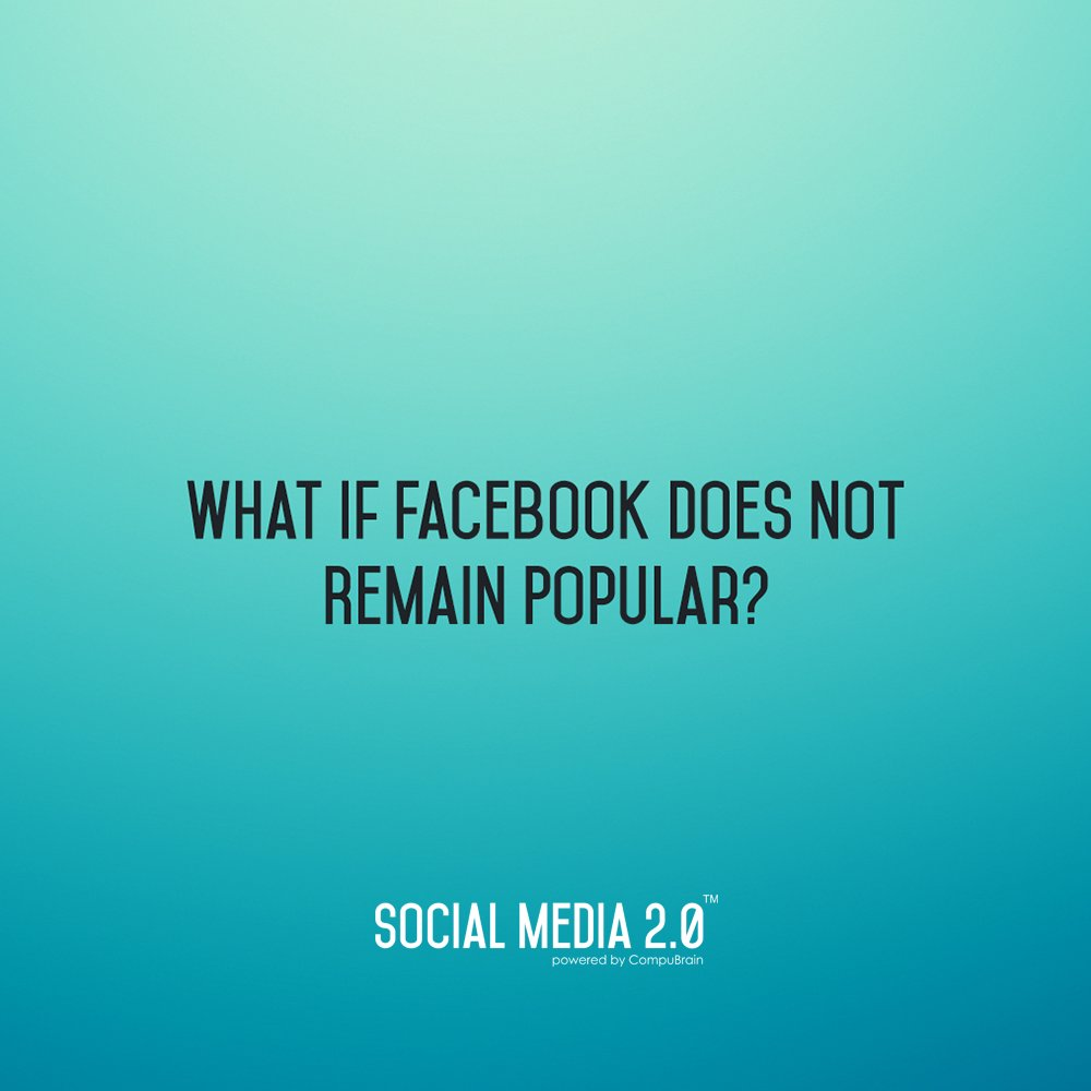 What If Facebook/Instagram Was To Close Business Or Not Remain Popular? What about your Social Media Backup?  Well, we have an answer to this question and the answer is Social Media 2.0  How? check this out-> https://t.co/oC7vAJYr6u  #SocialMedia #SM2p0 #SMM #ContentStrategy #SEO https://t.co/cVGAqXefL3