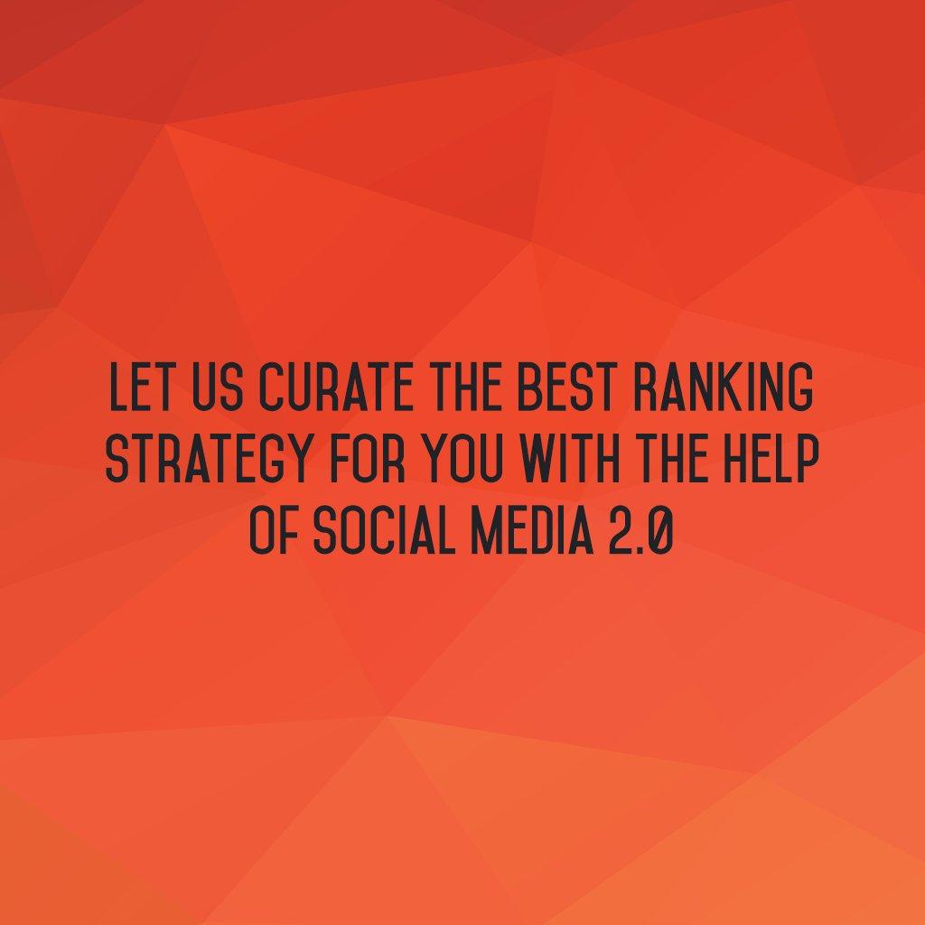 Best Ranking Strategy.  #SocialMedia2p0 #socialmedia #sm2p0 #SearchEngineOptimization #SMM #MarketingDigital https://t.co/cEGdRAvtHW